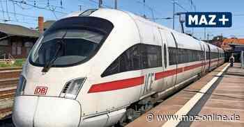 Wittenberge: Züge fahren künftig stündlich nach Berlin und Hamburg - Märkische Allgemeine Zeitung
