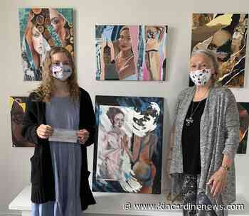 Art student receives scholarship from Victoria Park Gallery - Kincardine News