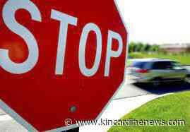 Twenty-nine drivers charged in traffic blitz - Kincardine News