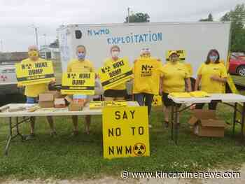 Second yellow protest parade held in South Bruce - Kincardine News