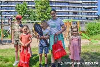 Kinderen winnen buitenspeelpakket (Zwevegem) - Het Nieuwsblad
