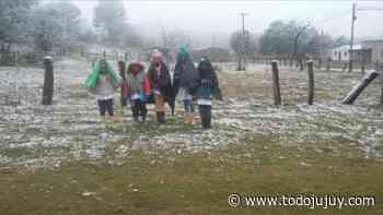 ¡Que frío! Llegó la nieve a Jujuy - todojujuy.com