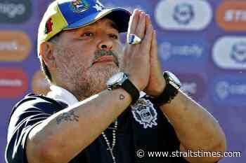 Football: Nursing coordinator denies responsibility in Maradona death - The Straits Times