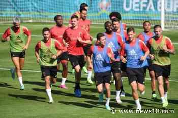 Belgium vs Russia Football, UEFA Euro 2020 : Romelu Lukaku Nets a Brace in Red D - News18