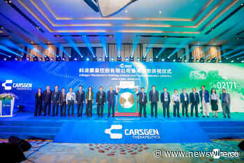 CARsgen Therapeutics officially listing on HKEX