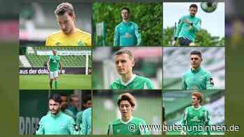 Welche Spieler bleiben auch in der 2. Liga bei Werder? - buten un binnen