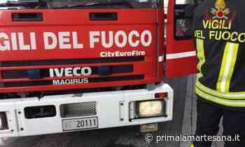 Incendio a Cascina Gobba, colonna di fumo sulla Tangenziale Est - Prima la Martesana