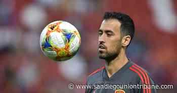 España: Busquets da negativo para COVID-19, regresa a equipo - San Diego Union-Tribune en Español