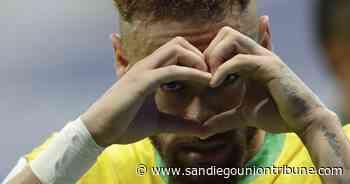 Emocionado, Neymar se acerca a récord de Pelé con Brasil - San Diego Union-Tribune en Español