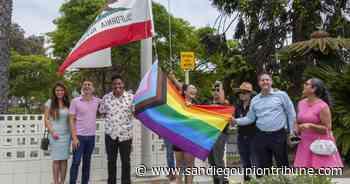 National City iza por primera vez la bandera del Orgullo - San Diego Union-Tribune en Español