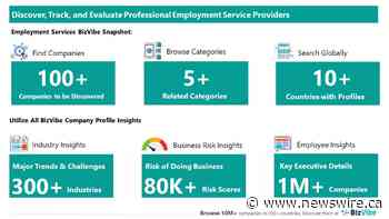 Evaluate and Track Employment Companies | View Company Insights for 100+ Professional Employment Service Providers | BizVibe