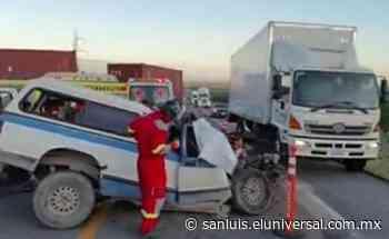 Tres personas mueren en accidente en carretera Rioverde-Valles - El Universal