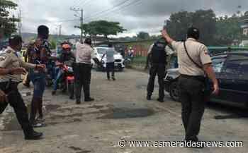 Gobernación buscó salida a paralización en Rioverde - Esmeraldas News