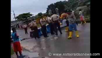 Pescadores de Rioverde protestan por aumento de casos de robos en el mar - Esmeraldas News