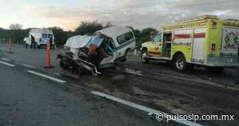 Tres personas mueren en accidente en la carretera Rioverde-Valles - Pulso Diario de San Luis