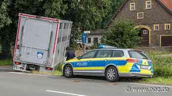 LKW rutscht in Bohmte in Straßengraben - noz.de - Neue Osnabrücker Zeitung