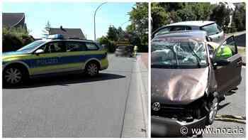 Video: Fahrer nach Kollision mit parkendem Auto in Bohmte verletzt - noz.de - Neue Osnabrücker Zeitung