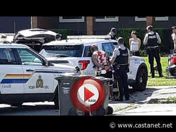 RCMP handcuff multiple suspects outside Lower Mission home - Kelowna News - Castanet.net