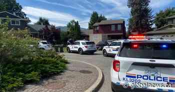 Kelowna RCMP swarm Lower Mission home in suspected drug raid - Global News