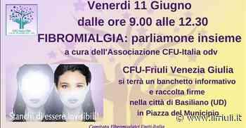14.15 / Basiliano scende in campo per i malati di Fibromialgia - Il Friuli