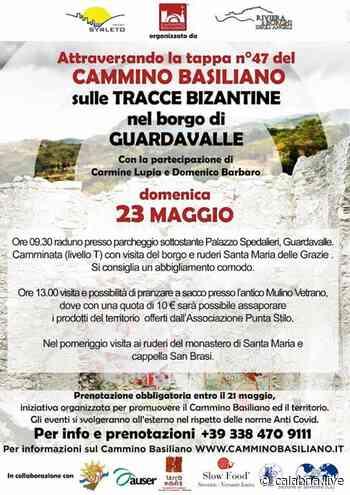 GUARDAVALLE (CZ) – Domenica 23 maggio una camminata nel Cammino Basiliano - Calabria Live