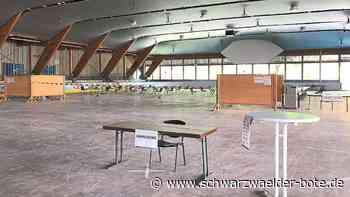 Schnelltestzentrum in der Eislaufhalle Baiersbronn - Neue Öffnungszeiten ab Montag - Schwarzwälder Bote