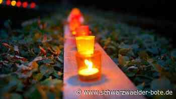 Baiersbronn - Lichterfestwird abgesagt - Schwarzwälder Bote