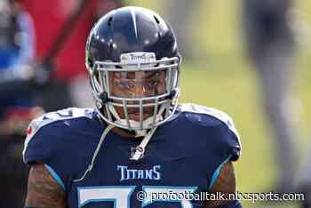 """Derrick Henry working hard """"to get better and be better when I come back"""""""