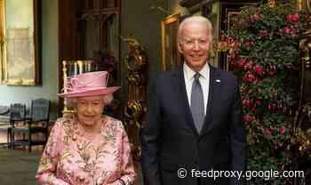 Joe Biden eviscerated as royal protocol breach undermines 'statesman' image