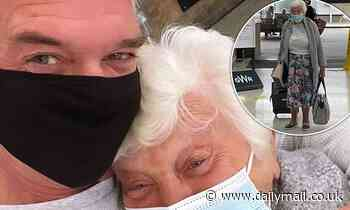 Phillip Schofield reunites with his 84-year-old mum Pat after being apart for a YEAR