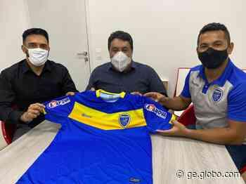Caruaru City fecha primeiro patrocínio para a Série A2; mangas da camisa serão estampadas - globoesporte.com