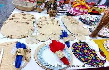 Exposição de artesanato da Funase é retomada em shopping de Caruaru - Diário de Pernambuco