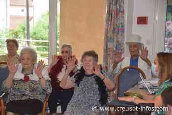 MONTCHANIN : On a dansé assis à l'E.H.P.A.D de la Roseraie - Creusot-infos.com