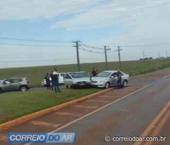 Acidente no trevo da C.Vale mobiliza SAMU de Palotina - Correio do Ar