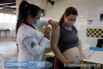 COVID-19: Palotina continua vacinando gestantes acima de 18 anos - Correio do Ar