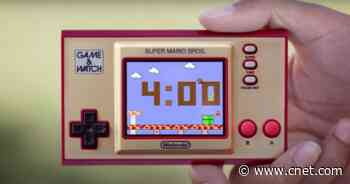Prime Day: Super Mario Game & Watch still available at Best Buy for $40 (save $10)     - CNET