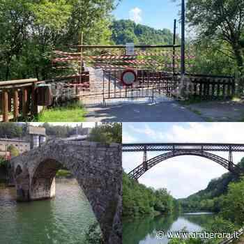 ALBINO - IL CASO - La 'ciclabile colabrodo' e quei due ponti di legno chiusi. Bufera social - Araberara