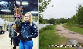 Model, 23, dies in a field after being brutally attacked as she tended to her horse