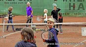 Tennissport erwacht aus Winter- und Corona-Pause - Staufen - Badische Zeitung