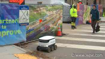 Delivery robot pilot set to start in Bloomfield this month - WPXI Pittsburgh