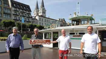 """Alleenstraße führt in Boppard über die Fähre: """"Stadt Boppard"""" ist einziges Fährschiff auf 3000-Kilometer-Route - Rhein-Zeitung"""