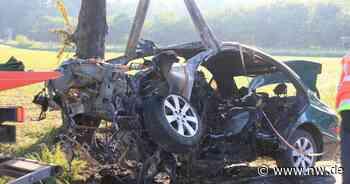 Autofahrer verbrennt in verunglücktem Mercedes bei Bad Driburg - Neue Westfälische