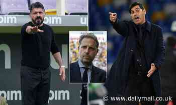 Tottenham even considering Gennaro Gattuso as their manager points to a confused identity