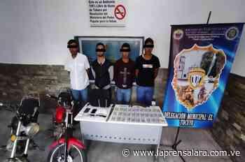 CICPC detuvo a cuatro hombres en El Tocuyo por hurto - La Prensa de Lara