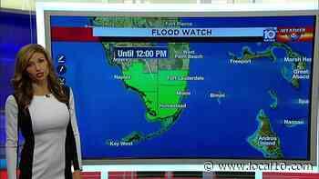 Alerta de inundaciones en el sur de Florida hasta el mediodia - WPLG Local 10