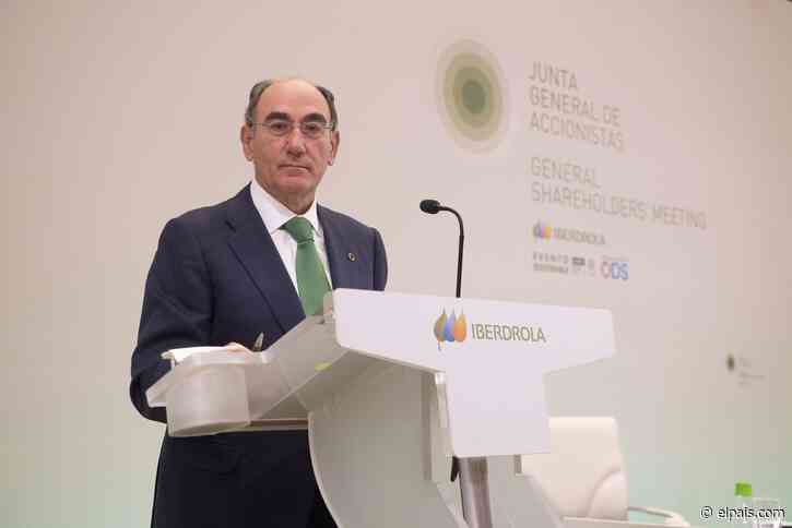 """Sánchez Galán: """"El principal beneficiario de los altos precios de la electricidad es la Hacienda Pública"""" - EL PAÍS"""
