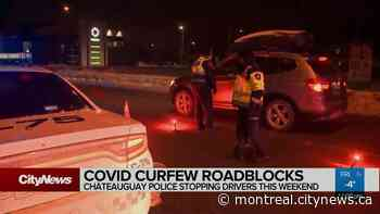 Chateauguay police stopping drivers this weekend - Video - CityNews Montreal