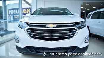 Alto desempenho: novo Chevrolet Equinox pode ser encontrado na Uvel de Umuarama - ® Portal da Cidade | Umuarama