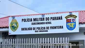 Pelotão BPFron dispõe de telefone e e-mail para denúncias em Umuarama e região 17/06 - ® Portal da Cidade | Umuarama