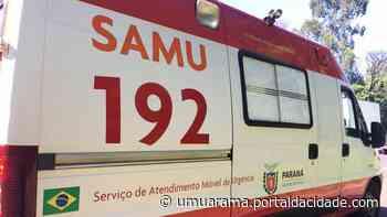 Trânsito Adolescente que dirigia motocicleta atropela criança de 6 anos em Umuarama 17/06/2021 às - ® Portal da Cidade | Umuarama